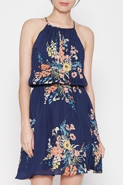 Joie Halter Blue Floral Dress - Product Mini Image