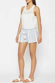 Joie Striped Comfy Shorts - Product Mini Image