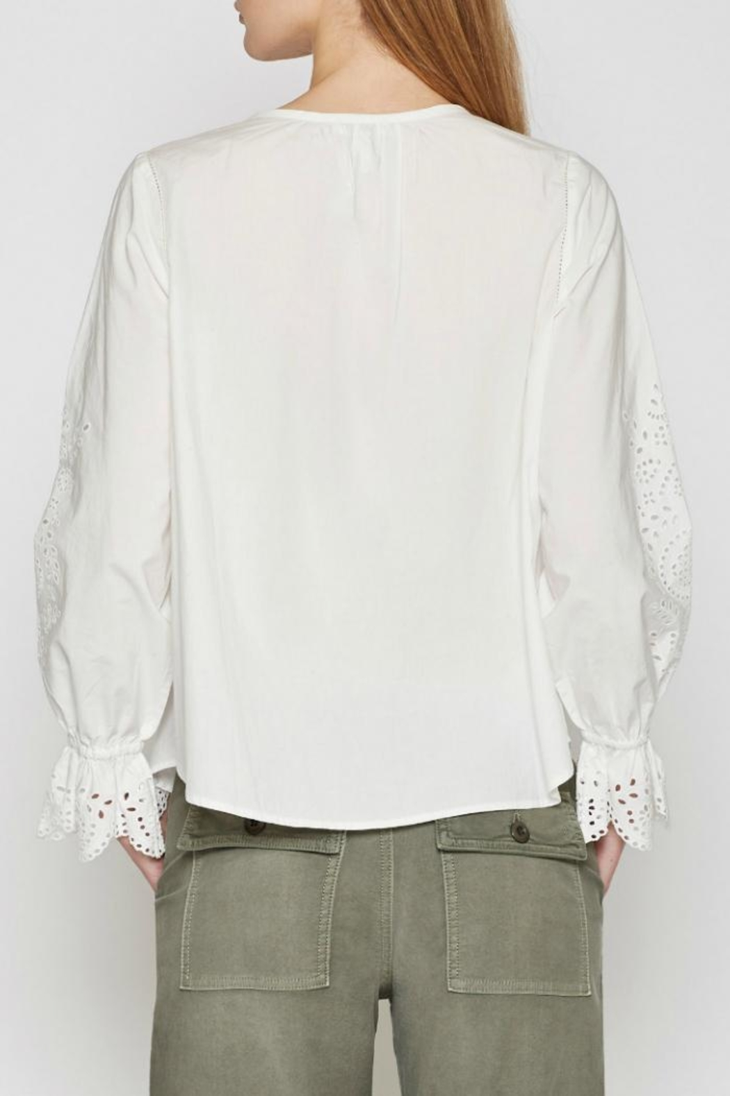 Joie Kalyssa Lace Top - Side Cropped Image
