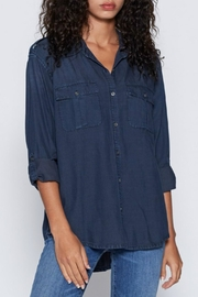 Joie Lidelle Chambray Top - Product Mini Image