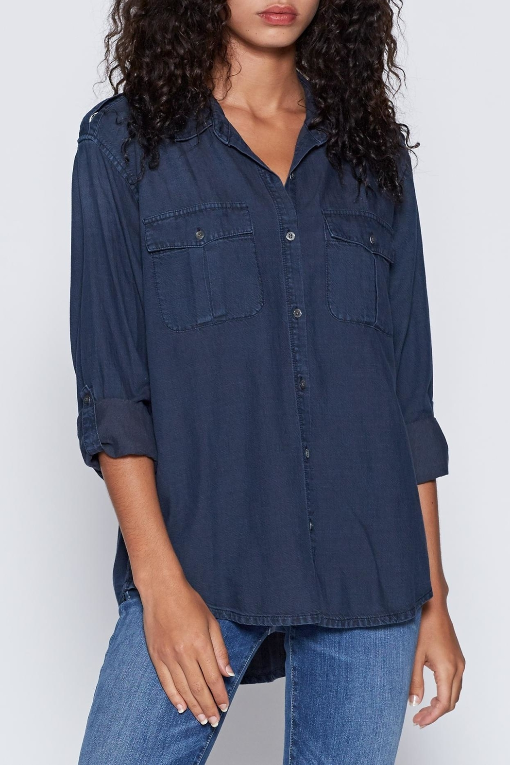 Joie Lidelle Chambray Top - Main Image