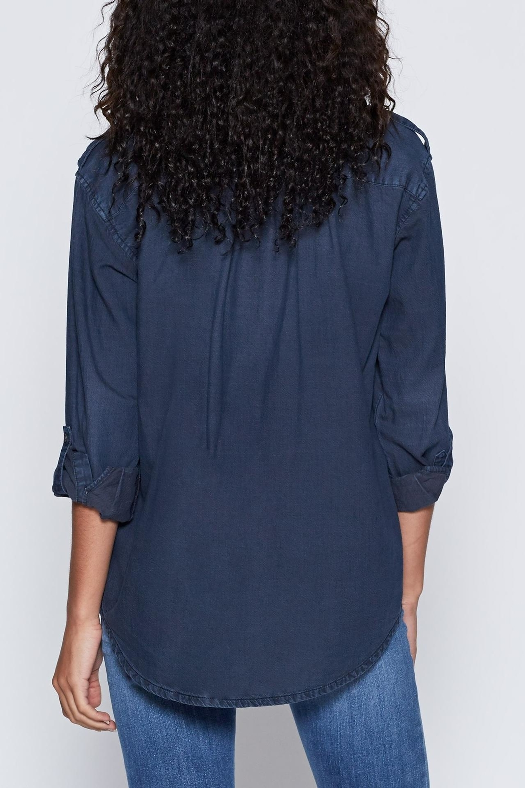 Joie Lidelle Chambray Top - Side Cropped Image
