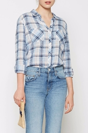 Joie Lilya Plaid Top - Product Mini Image