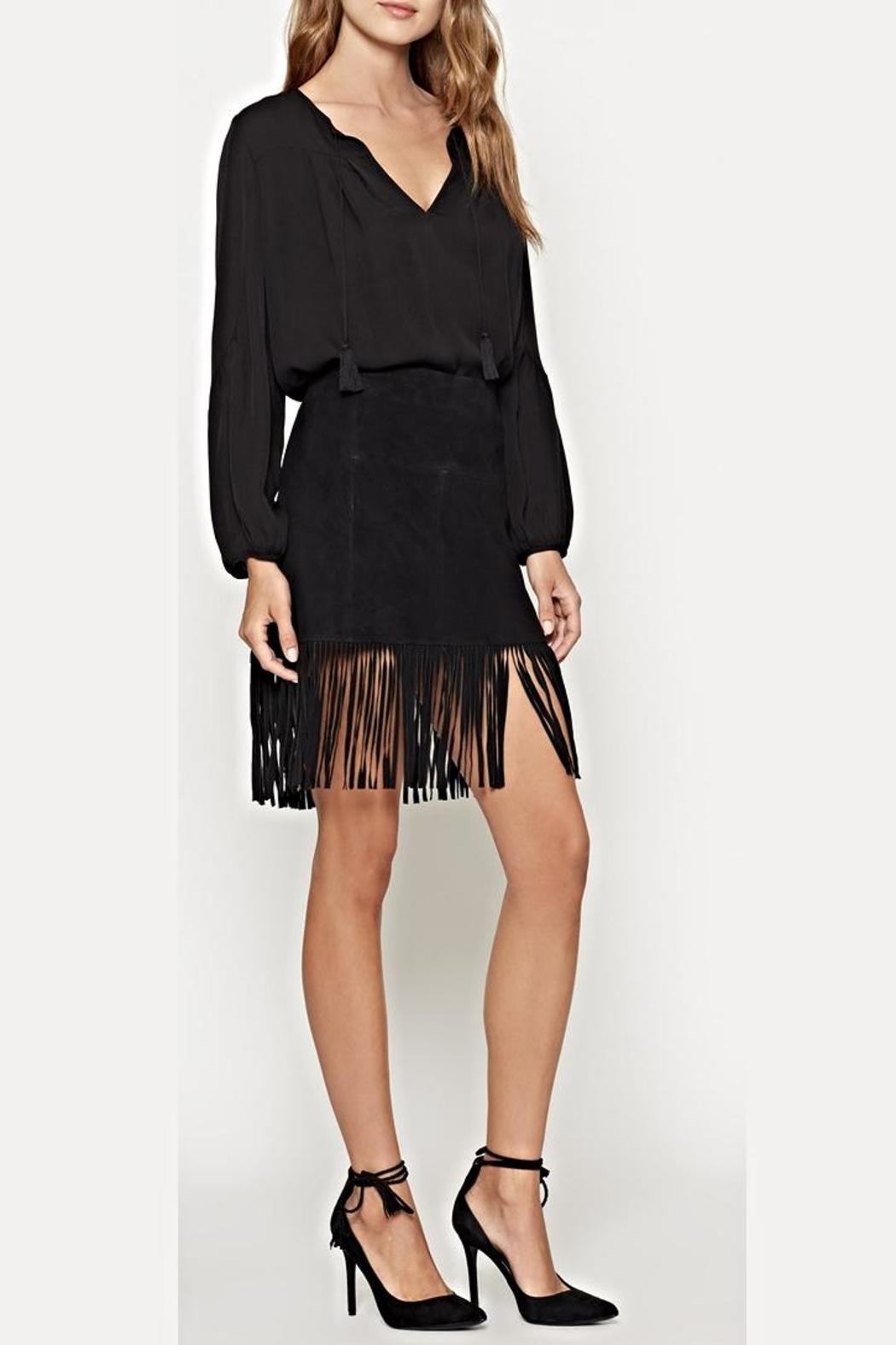 Joie Lozita Suede Skirt - Front Cropped Image