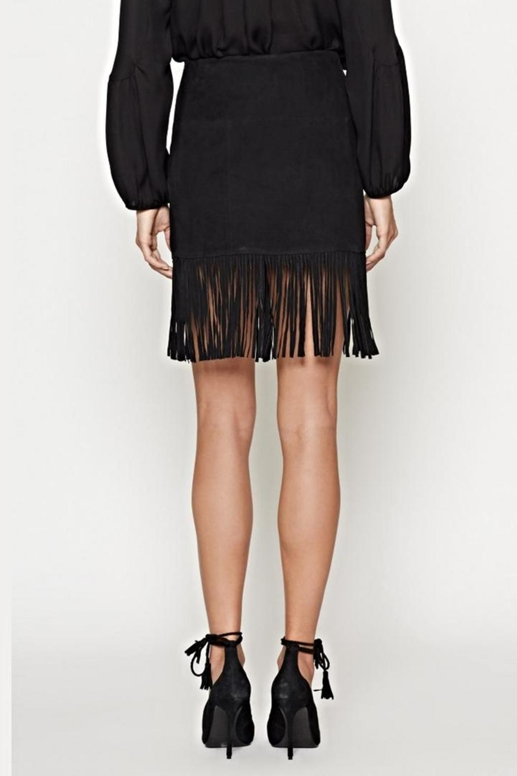 Joie Lozita Suede Skirt - Side Cropped Image