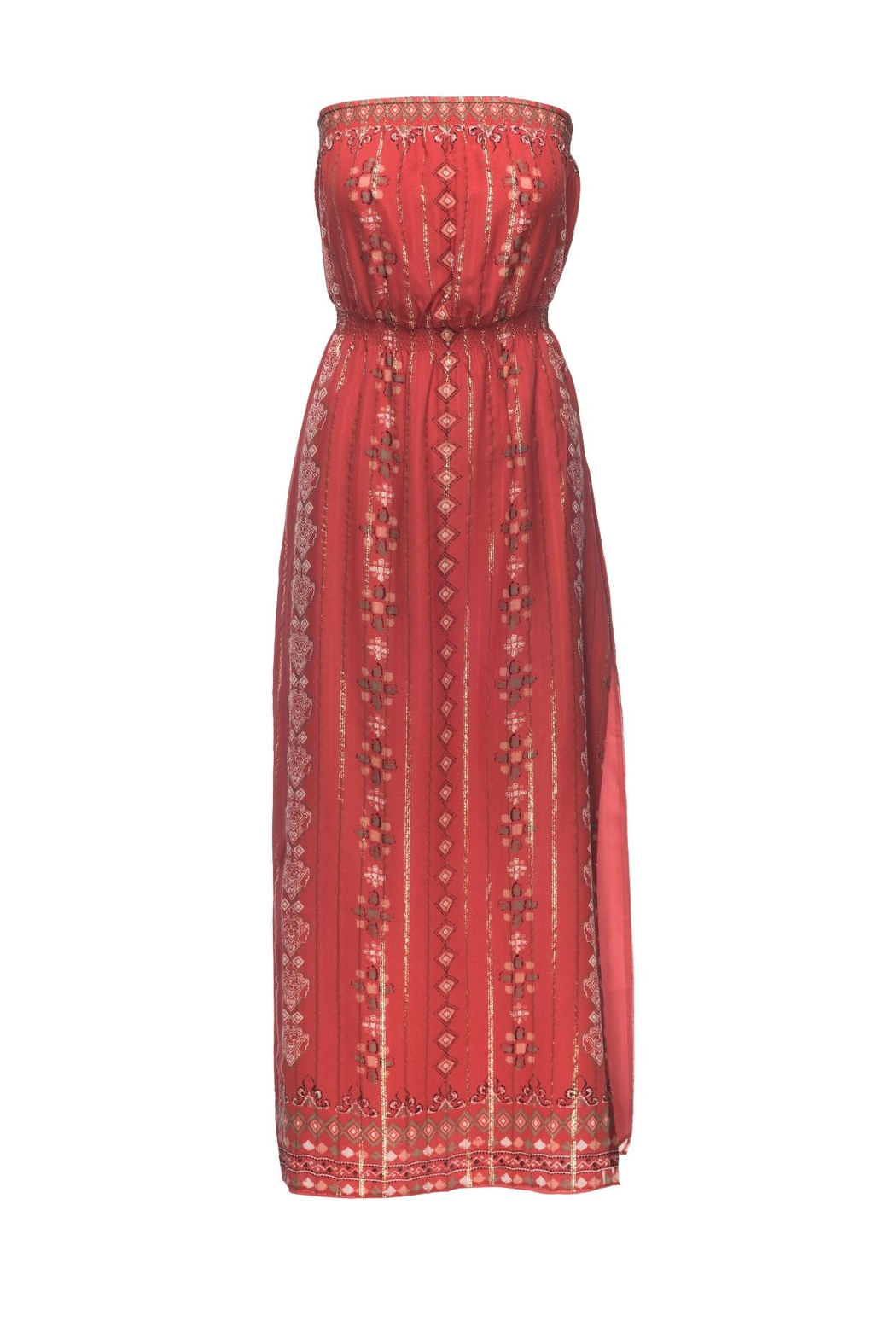 Joie Mariele Terracotta Dress - Main Image