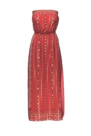 Joie Mariele Terracotta Dress - Product Mini Image