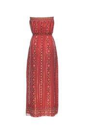Joie Mariele Terracotta Dress - Front full body