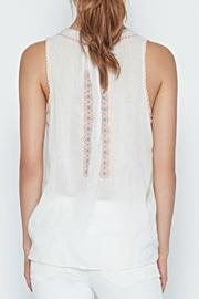 Joie Marl Embroidered Top - Side cropped