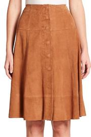 Joie Mylon Suede Skirt - Product Mini Image