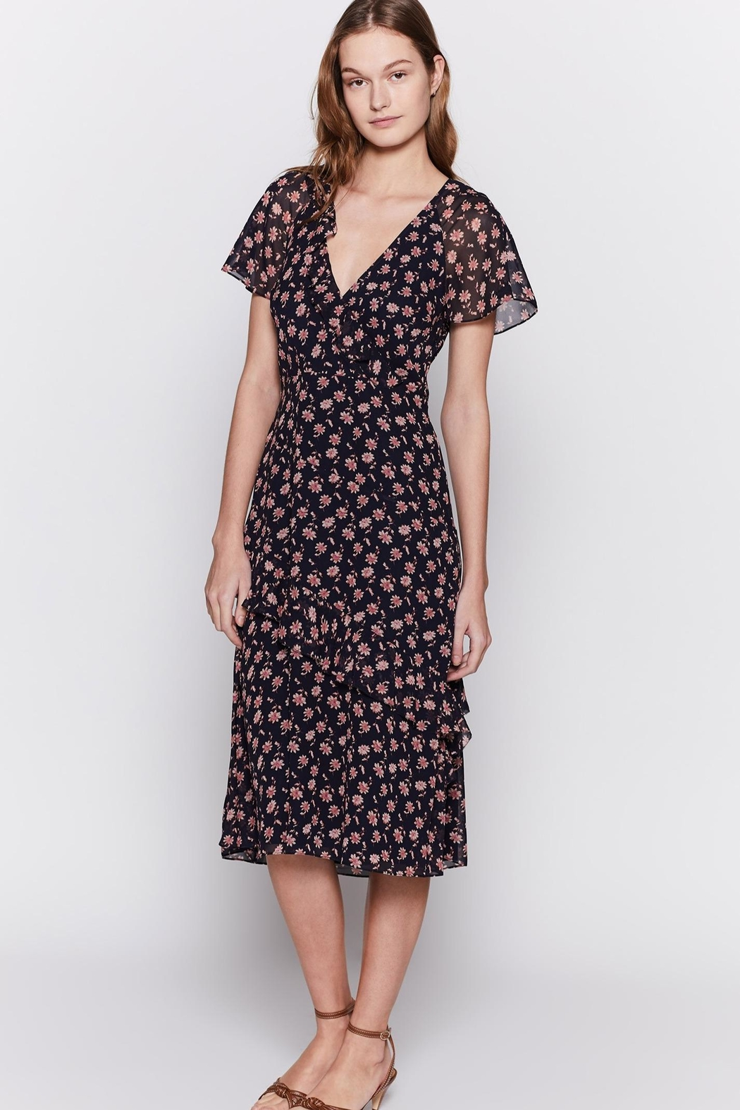 Joie Orita Silk Dress - Front Full Image