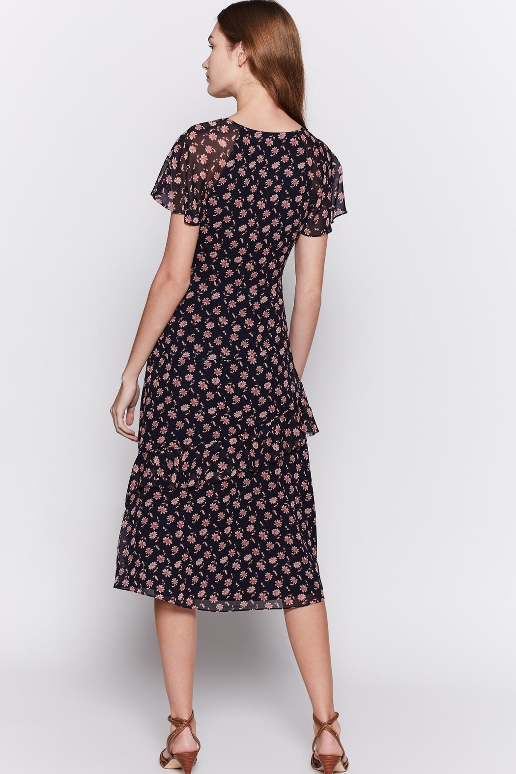 Joie Orita Silk Dress - Back Cropped Image