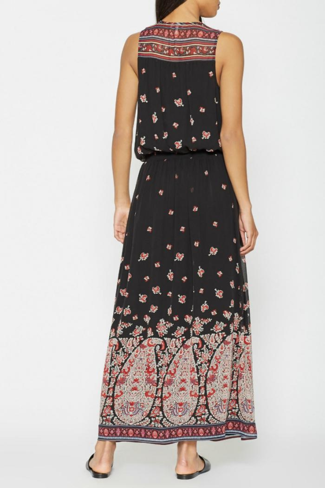 Joie Phanette Silk Dress - Side Cropped Image