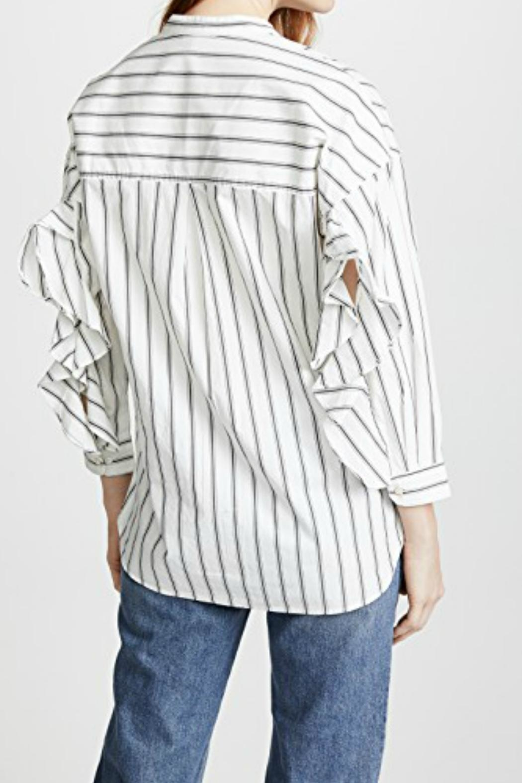 Joie Poni Button-Down Top - Front Full Image