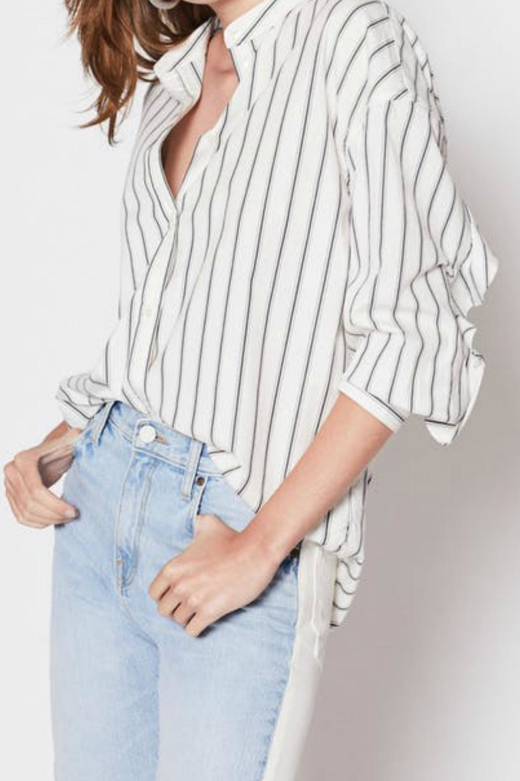 Joie Poni Button-Down Top - Front Cropped Image