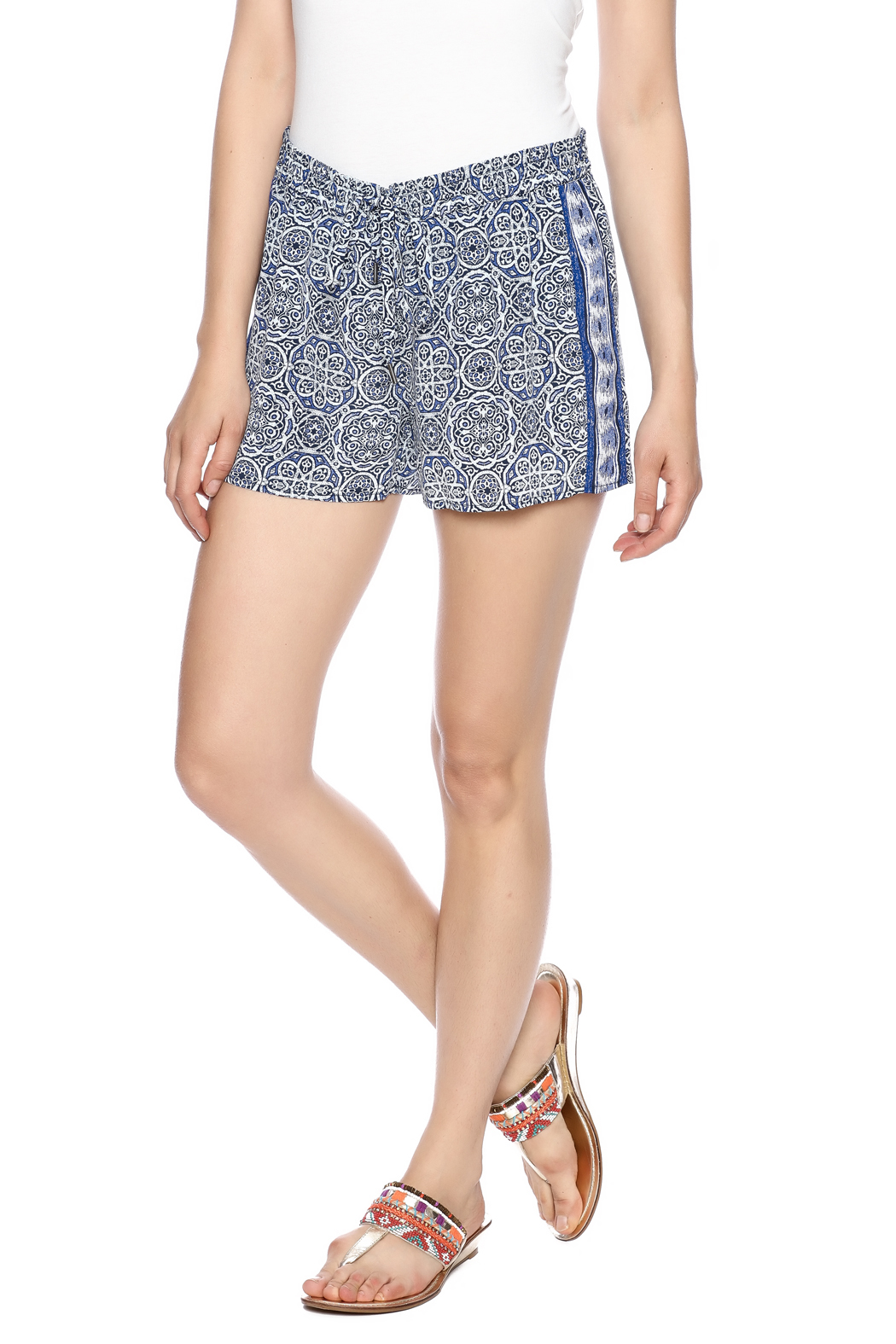 Joie Sinclair Shorts - Front Cropped Image