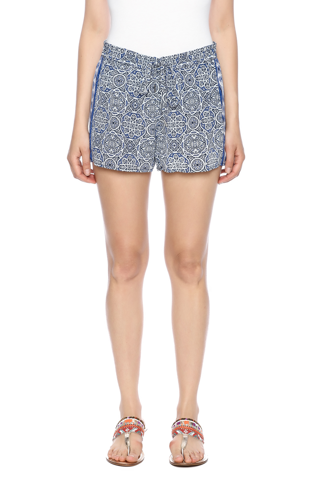 Joie Sinclair Shorts - Side Cropped Image