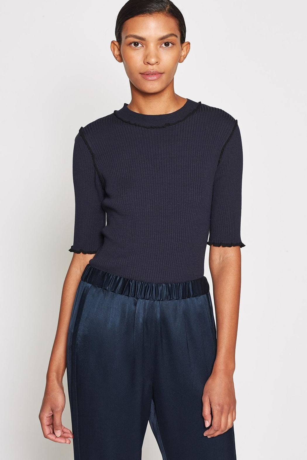 Joie Thorna Sweater Midnight - Front Full Image
