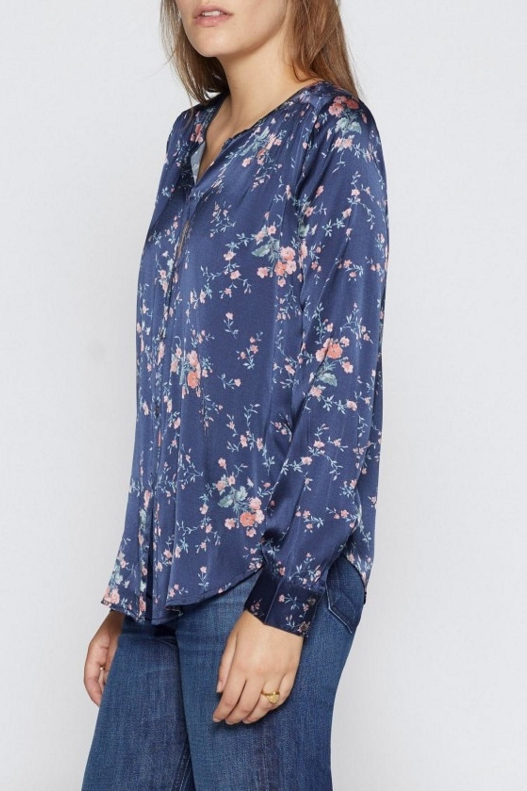 Joie Timlyn Silk Top - Front Full Image