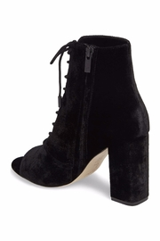 Joie Velvet Lace Up Bootie - Side cropped