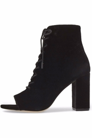 Joie Velvet Lace Up Bootie - Product Mini Image