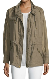 Joie Zip-Front Linen Jacket - Product Mini Image