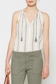 Joie Soft Amalle Tassel Tank - Front cropped