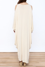 Join Clothes Cream Goddess Maxi Dress - Back cropped
