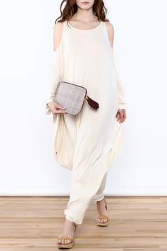 Shoptiques Product: Cream Goddess Maxi Dress