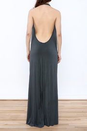 Join Clothes Grey Maxi Dress - Back cropped