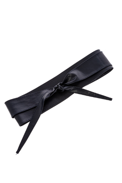 Shoptiques Product: Navy Wrap Belt