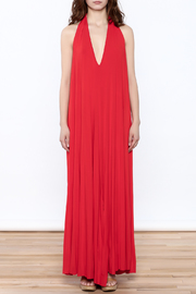 Join Clothes Red Maxi Dress - Front cropped