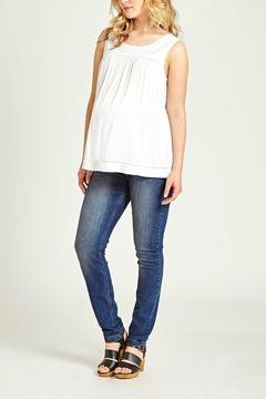 Shoptiques Product: White Embroidered Camisole