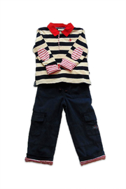 JoJo Maman Bebe Striped Rugby Set - Product Mini Image