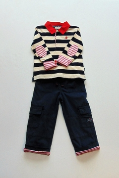 Shoptiques Product: Striped Rugby Set
