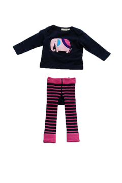 JoJo Maman Bebe Baby Elephant Set - Alternate List Image