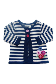 JoJo Maman Bebe Cable Knitted Cardigan - Front cropped