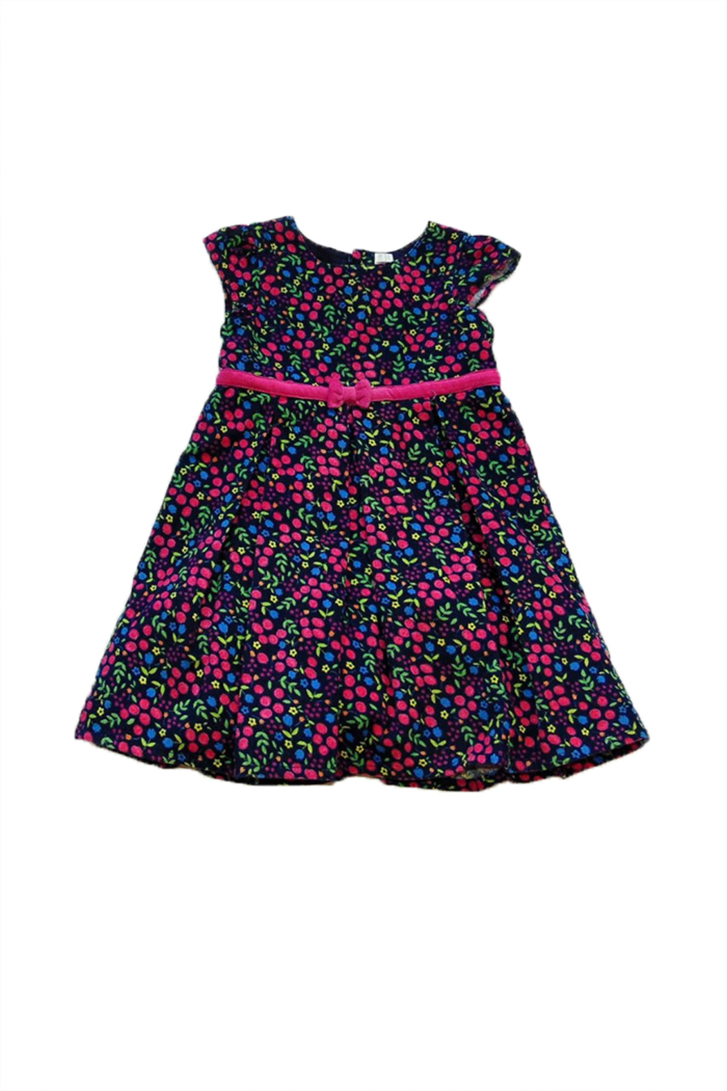 JoJo Maman Bebe Cord Party Dress - Main Image