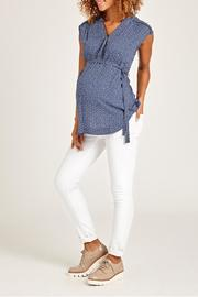 JoJo Maman Bebe Ditzy Floral Top - Front cropped