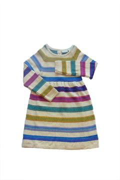 JoJo Maman Bebe Fair Isle Dress - Alternate List Image