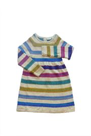 JoJo Maman Bebe Fair Isle Dress - Front cropped