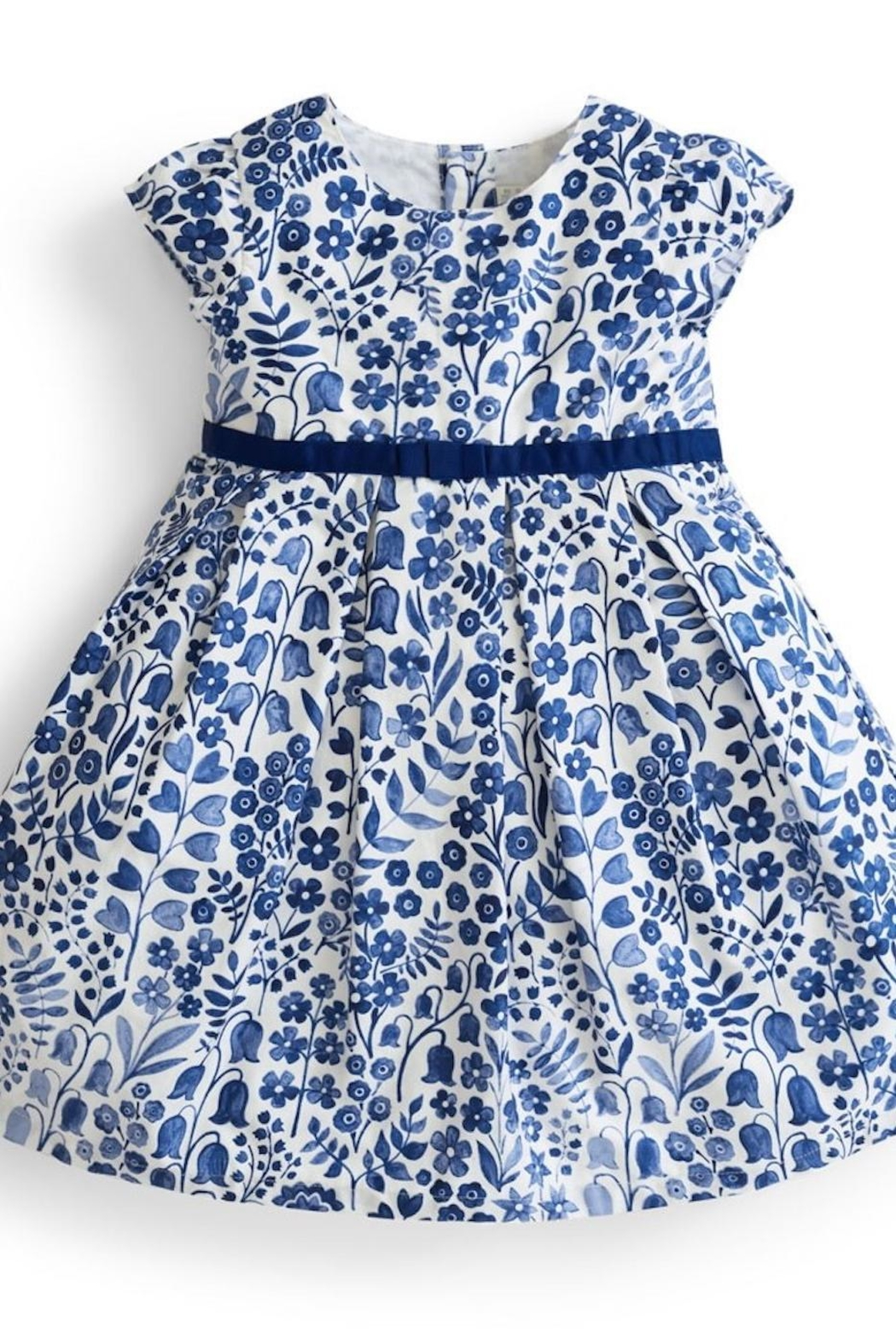 JoJo Maman Bebe Floral Party Dress - Front Cropped Image