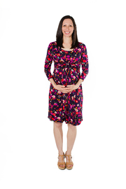 JoJo Maman Bebe Floral Wrap Dress - Product Mini Image
