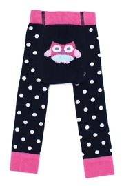JoJo Maman Bebe Navy Owl Leggings - Product Mini Image