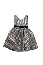 Jolene Canada Silver Dress - Front cropped