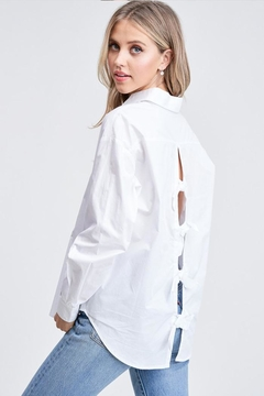 Jolie Back Bow Top - Product List Image