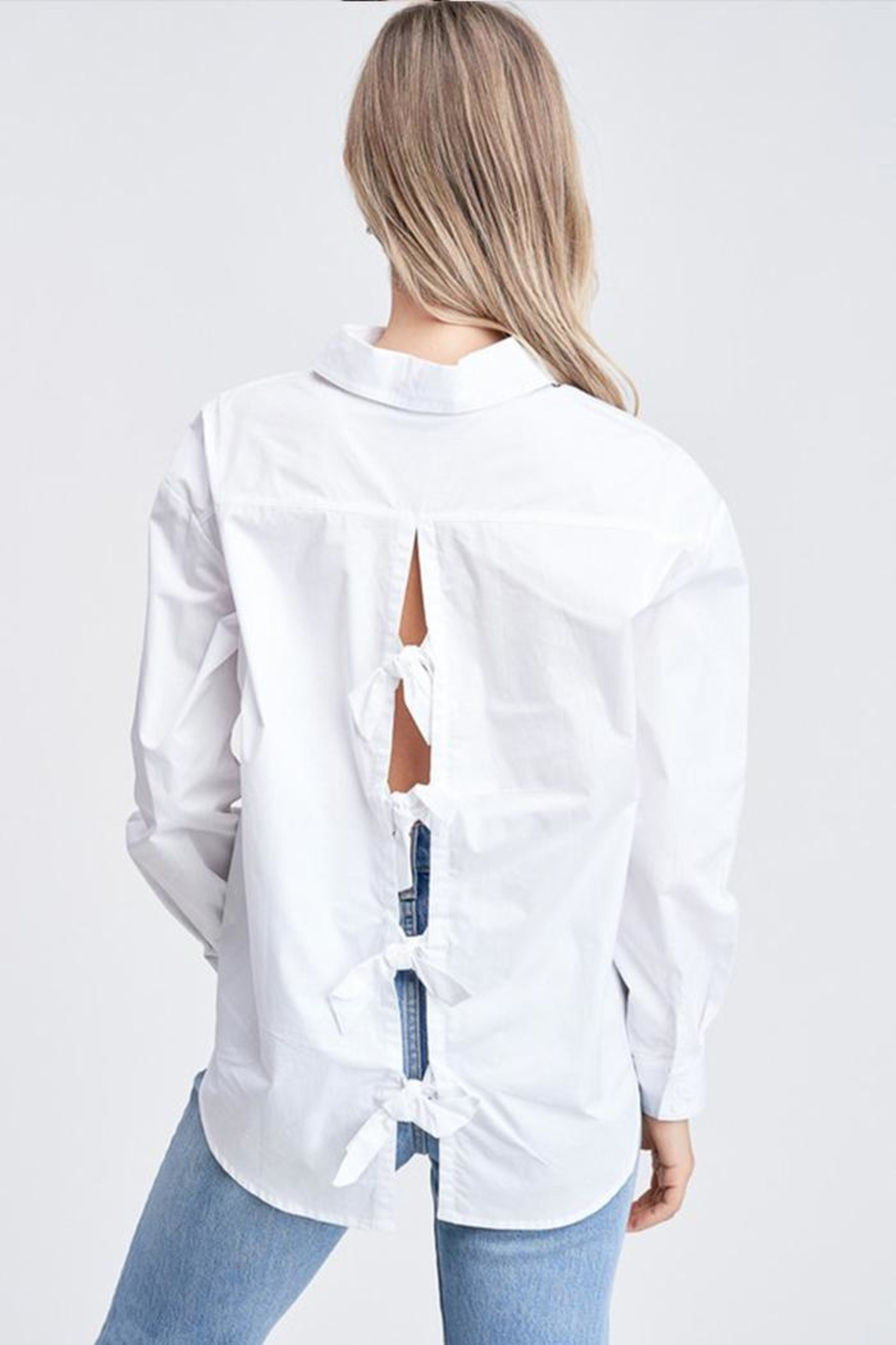 Jolie Back Bow Top - Side Cropped Image