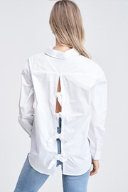 Jolie Back Bow Top - Side cropped