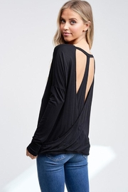 Jolie Back Cutout Top - Front full body