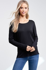 Jolie Back Cutout Top - Product Mini Image